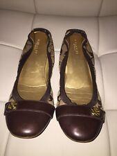 Coach Flats Women Shoes Size 9