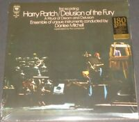 HARRY PARTCH delusion of the fury USA 2-LP new sealed REISSUE 180 GRAM VINYL