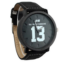 Men's Fashion Large dial Sport Large digital Quartz  Wrist Watch  J1X3 L6G7