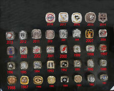 ALL Championship rings NHL (1934-2019 years) Hockey league