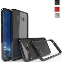 1pcs Clear Soft TPU Shockproof Case Cover for Samsung Galaxy S8 S9 + Note 8 9