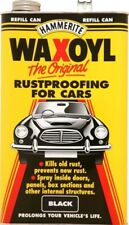 Waxoyl Black 5 Litre Can Rust Proofing Under seal Underseal 5l Hammerite Waxoil