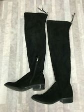 Sam Edelman Women's Over the knee Suede Boots Color Gray Size: 9