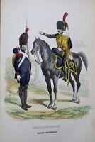 GARDE IMPERIALE 1847 HISTOIRE ANECDOTIQUE, POLITIQUE ET MILITAIRE DE LA