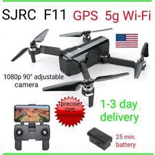 SJRC F11 Drone GPS 5G WiFi FPV 1080p HD Camera Brushless RC Quadcopter foldable