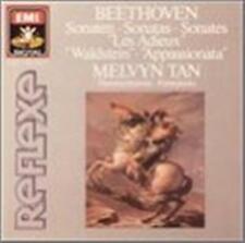 "EMI UK - MELVYN TAN- Beethoven Piano Sonatas 21 "" Waldstein "" No 23 & 26 CD 1988"