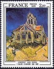 "FRANCE STAMP TIMBRE N° 2054 "" EGLISE D'AUVERS DE VAN GOGH "" NEUF xx TTB aq41"