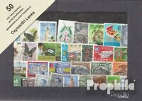 Ceylon 50 verschiedene Marken