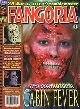 Fangoria July 2003 Cabin Fever, Terminator 3 VG 090816DBE