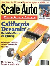 Scale Auto Enthusiast 116 1998 California Rod Pickup Paint Plastic Figures Model