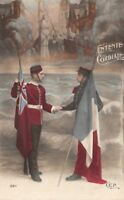 CPA - Militaria - Patriotique - Entente cordiale