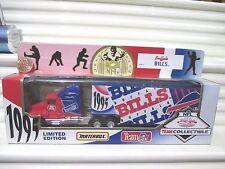 Matchbox Limited Edition 1995 1/80 NFL BUFFALO BILLS Truck New in Near Mint Box
