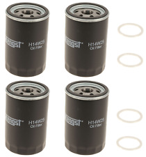 For Porsche 944 951 Oil Filter Set of 4 Hengst+4 Drain Oil Plugs CRP