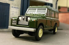 1:76 OO Scale Model Land Rover 2 2a 109 2.25 2.6 LWB Station Wagon Green Oxford