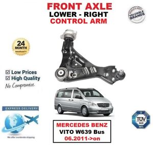 FRONT AXLE RIGHT LOWER CONTROL ARM for MERCEDES BENZ VITO W639 Bus 06.2011->on