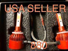 880 883 Led Conversion Bulbs Lights Kit Hid 6000k 2x Bulb Fog Pro Ma Laser White