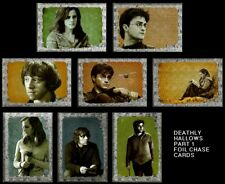 HARRY POTTER AND THE DEATHLY HALLOWS PART 1 FOIL CHASE CARDS