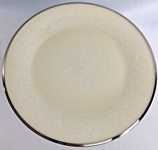 Lenox Moonspun China Bread and Butter Plate 6 3/8  inch White Floral on Ivory