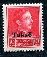 ALBANIEN PORTO 1936 34I ** POSTFRISCH TADELLOS AUFDRUCK TAKSE 25€(I2049