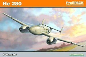 Eduard Profipack 1:48 Heinkel He 280 Aircraft Model Kit