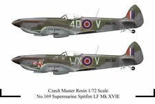 Czech Master Resin 1/72 Supermarine Spitfire LF Mk. XVIE Low Back # 169