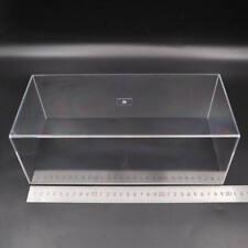 Acrylic Case Model Car Display Box Show Transparent Dust Proof 29cm Clear 1/24
