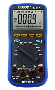 Owon B35T+ Multimeter with True RMS, Datalogging and Bluetooth connectivity