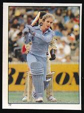 1984 Scanlens Cricket Sticker unused number 72 David Gower