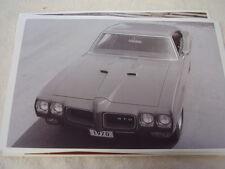 1970 PONTIAC GTO HARDTOP FRONT VIEW  11 X 17  PHOTO  PICTURE