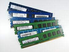 2GB 4GB 8GB RAM Speicher DDR3 PC3-10600U 1333 MHz Arbeitsspeicher Samsung Nanya