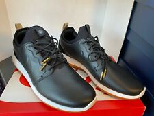 Nike Roshe Two Leather PRM Shoes 11.5 Black Gum Sole 881987-001