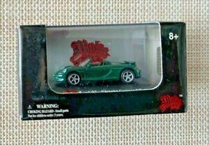 HO 1/87 SCALE DIECAST GREEN PORSCHE CARRERA GT BY MALIBU INTERNATIONAL NIB 112