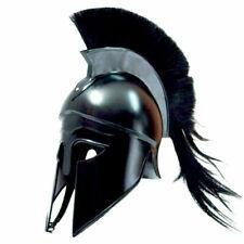 Medieval Greek Corinthian Helmet + Leather Liner Roman Knight Spartan Helm  TB46