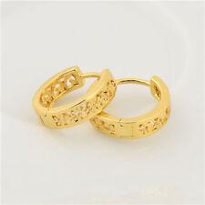 Hoop Earrings Earings Childrens 18k Gold Plated Nickel Free Girls