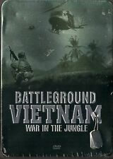 Battleground Vietnam (Bonus: Casualties Of War) (DVD, 2009) 5 DVDs (Tin Box)