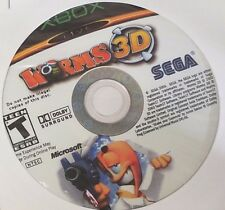 Worms 3D (Microsoft Xbox, 2005) **Disc Only**