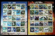 Lot #57  - Marshall Islands stamps #708 Legendary Aircraft #1 and #2