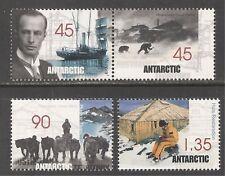 Australian Antarctic Territory #L112a-114 (A26) Mnh - 1999 Mawson's Expedition