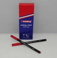 10x edding 1300 ROT Color pen Fasermaler Filzstifte 2mm Rundspitze