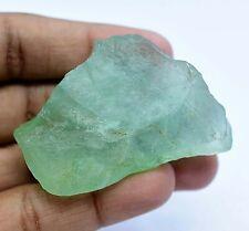 328.5 Ct Natural Green Colombian Emerald Fluorite Specimen Facet Rough