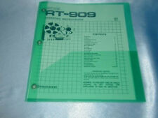 PIONEER RT-909 REEL TO REEL OWNER'S MANUAL FREE SAME DAY SHIPPING