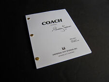 "TV Script -Coach -""The Break Up""- Final Draft 10/3/90 -Signed by Shelley Fabares"
