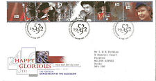 6 FEBRUARY 1992 HAPPY & GLORIOUS 40th ACCESS RM FIRST DAY COVER BUREAU SHS