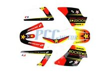 ROCKSTAR GRAPHICS DECAL STICKERS KIT PW50 PW 50CC I DE41