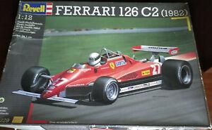 Kit Montaggio Ferrari 126C2  Revell - Scala 1:12 - Raro da Collezione