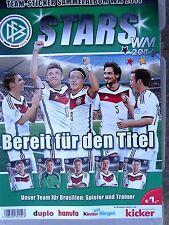 Sammelalbum zur WM 2014; neu // TOP-ERHALTUNG - Hanuta, Duplo FERRERO