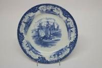 Wedgewood & Co Hague Teller England  Blau Weiß 20 cm