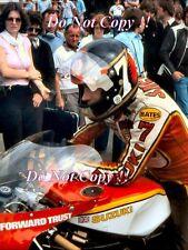 BARRY SHEENE SUZUKI rg500 World Champion 1976 & 1977 photo Graph 2