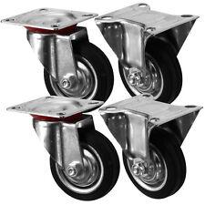 """Heavy Duty Castor Rueda (75MM/3"""") Carro de Muebles Caster-Paquete de 4"""