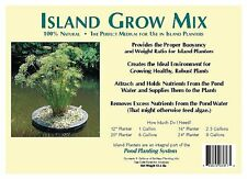 Floating Island Pond & Water Garden Planter Potting Soil Grow Mix -3 Gallons